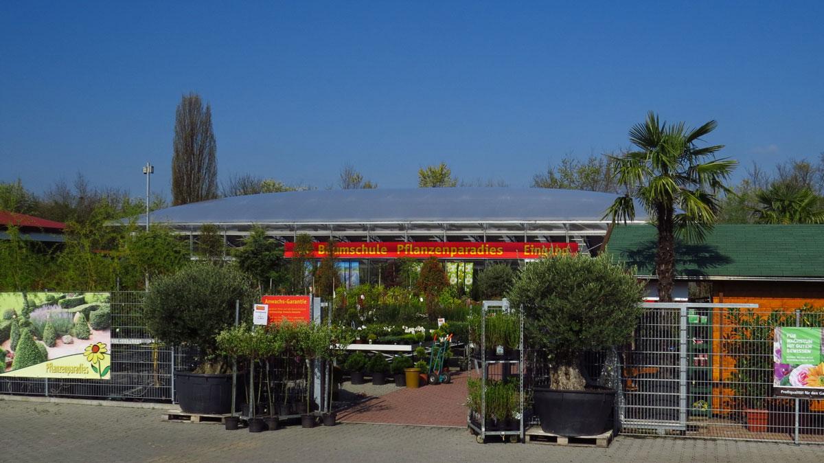 Baumschule Weinheim Eingang