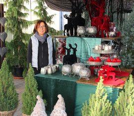 Adventsmarkt in der Baumschule